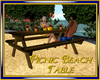 Picnic Beach Table