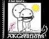 (AK)Best Friend Sticker
