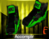 ツ BJ Nikes Green