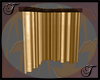 Gold Corner Curtains