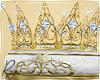 Filigree Gold Crown