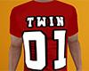 Twin 01 Shirt Red (M)