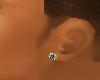 Mens Stud Left Ear