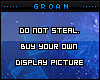 DO NOT STEAL 160x220
