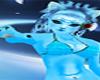 beautiful blue furry