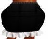 Black Gathered Skirt 1