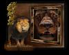 Lion frame
