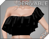 ~AK~ Off-Shoulder Ruffle