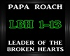 Papa Roach-Leader ofThe