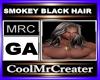 SMOKEY BLACK HAIR