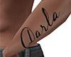 Darla Forearm Tattoo (M)