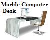 Marble Computer Desk