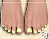 cg. Yellow Pedicure