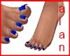 TippyToe Feet -Blue