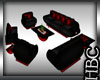 :HB: Red Club Relax Sofa