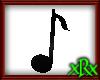 Music Note 1 Black