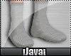 :D Plain Grey Socks