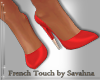 """SAV"" IN RED PUMPS"