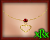Heart Necklace January