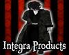 Dark Vintage Trench Coat