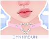 🌠 Heart Choker Pinky