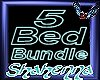 RC 5 Bed Bundle poses