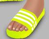 r. Neon Sandal