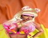 Twilaui Blonde/Pink