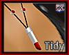 [T] Lipstick Necklace