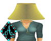 Ama{Lamp Shade yellow