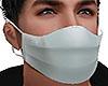 White Doctor Virus Mask