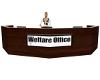[RED]welfare office desk