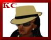 $KC$ Mafia Hat Tan/blk