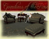 GR Olive sofa chair set