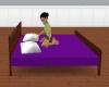 purple pose bed