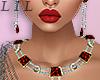 Red Jewel Set