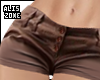 [AZ] RLL  Brown short