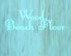 Wood Beach Floor