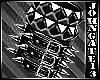 Dark Metal Spiked Brac R