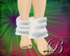 [B]white slouch socks