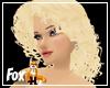 Golden Blonde Cury Hair