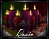 Mesh Floor Candles