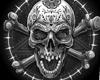 ♚ Skull Cutout
