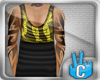 [LF] Half Long Vest Chn