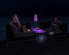 Purple & Gray Sofa