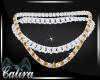 Topaz N Diamonds Necklace