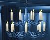*cp* blue chandelier