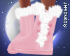 ☽M☾ Pink Fur Boots