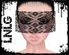 L:Veil Face-Black Lace