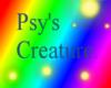 Psy's creature skin.